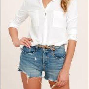 Blank NYC pinup shorts